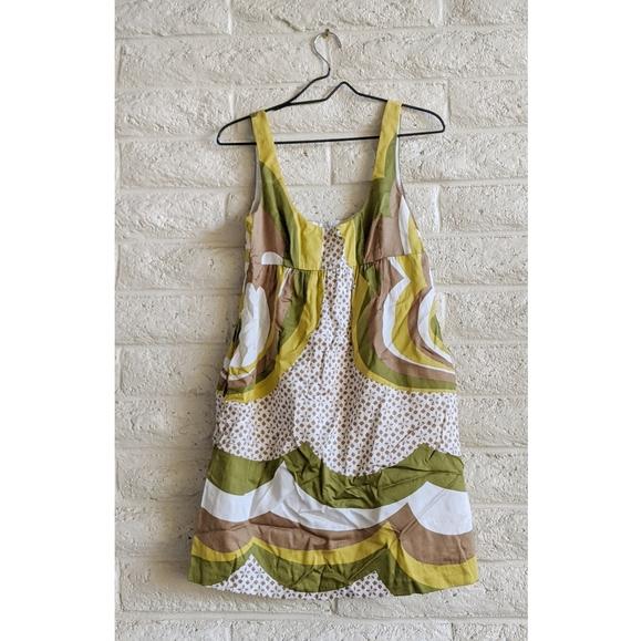 Trina Turk Dresses & Skirts - Trina Turk   70s mod green cotton dress